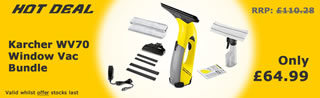 Karcher WV 70 Window Vacuum