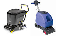 Mains Powered Scrubber Dryers