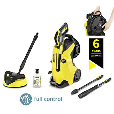 karcher k4 premium full control home pressure washer bundle medium domestic pressure washers. Black Bedroom Furniture Sets. Home Design Ideas