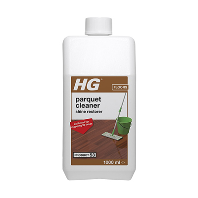 HG 53 Parquet Gloss Cleaner (wash & shine)