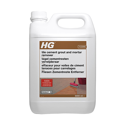 HG 12 Cement, mortar and efflorescence remover (5ltr)