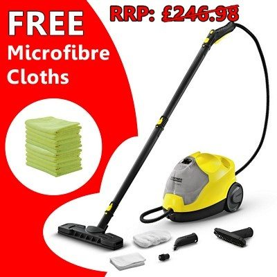 Karcher SC2500 / SC4 Steam Cleaner Bundle