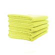Microfibre Cloth - Lightweight (Yellow) Pack of 5