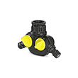Karcher Two Outlet Tap Adaptor