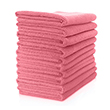 Microfibre Cloth - Lightweight (Red) Pack of 10