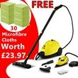 Karcher SC1030 Steam Cleaner with Iron