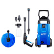 Nilfisk C110.4-5 X-tra Pressure Washer with Patio Cleaner & Rotary Wash Brush
