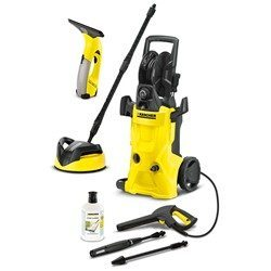 Karcher K4 Premium Deluxe Home Pressure Washer Bundle with WV50