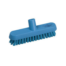 Hill Brush Extra Stiff Deck Scrub (Blue)