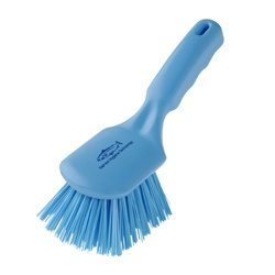 Hill Brush D4 Short Handled Brush (Blue)