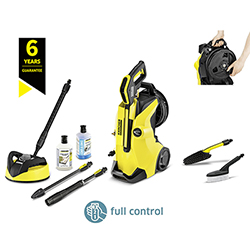 Karcher K4 Premium Full Control Home & Bike Pressure Washer Bundle