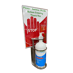 JMS Wall Mounted Sanitiser Dispensing Station