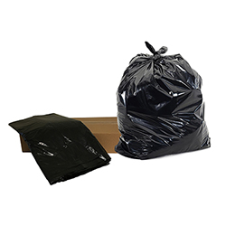 Black Refuse Sack Medium Duty (10kg)