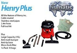 Henry Plus with free bags