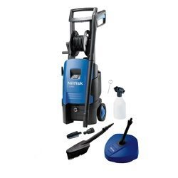 Nilfisk C130.1-6 X-tra Pressure Washer with Compact Patio Cleaner & Wash Brush