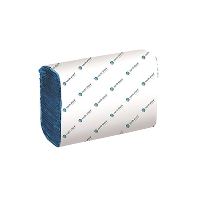 Bay West DublSoft MultiFold 1 Ply Blue Hand Towel