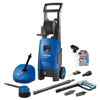 Nilfisk Centennial Refurbished Pressure Washer with Patio Cleaner & Rotary Brush