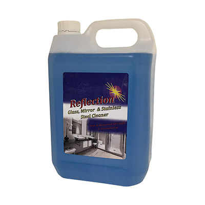 JMS Reflection Glass & Mirror Cleaner (5 Litre)