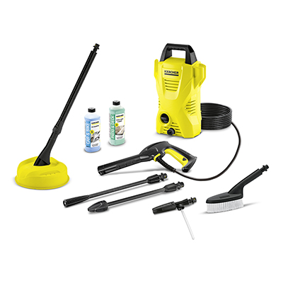 Karcher Classic K2 Compact Car & Home Pressure Washer Bundle