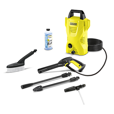 Karcher Classic K2 Compact Car Pressure Washer Bundle