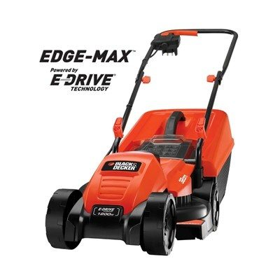 Black & Decker EMAX32S EdgeMax 1200W 32cm Electric Lawnmower