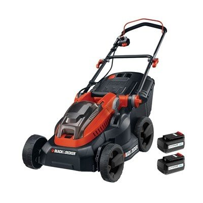 Black & Decker CLM3820L2 36v Li-Ion 38cm Cordless Lawnmower with 2 Batteries