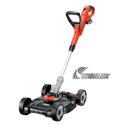 Black & Decker STC1820CM 3-in-1 18v Cordless Strimmer with City Mower Deck
