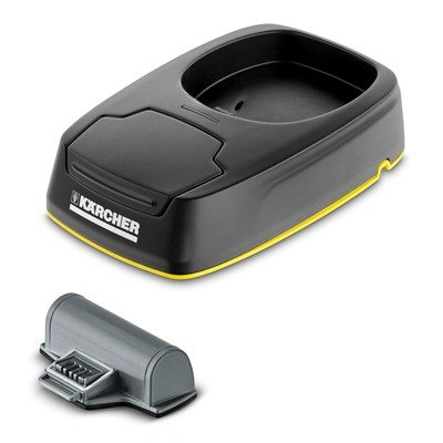 Karcher Charging Station & Interchangeable Battery for WV5 Window Vac