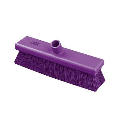 Hill Brush Anti-Microbial Medium Sweeping Broom (305mm)