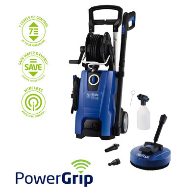 Nilfisk D-PG 130.4-9 X-tra Pressure Washer with Mid Patio Cleaner