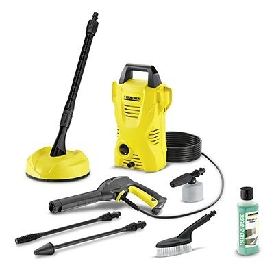 Karcher K2 Compact Home Platinum Pressure Washer Bundle