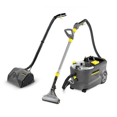 Karcher Puzzi 10/2 Extraction Cleaner with PW 30/1 Power Brush