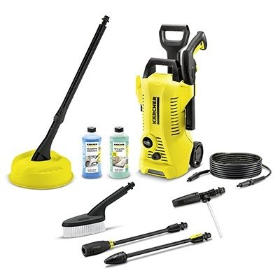 Karcher K2 Premium Full Control Car & Home Pressure Washer Bundle