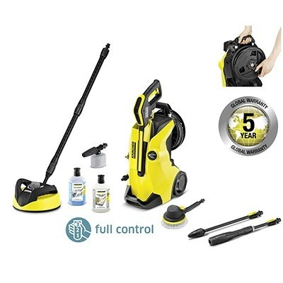 karcher k4 premium full control car home pressure washer bundle karcher full control. Black Bedroom Furniture Sets. Home Design Ideas