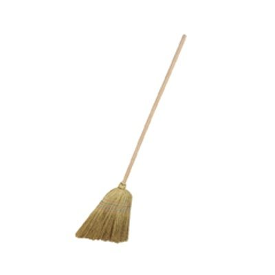 Hill Brush Medium Corn Broom with Handle