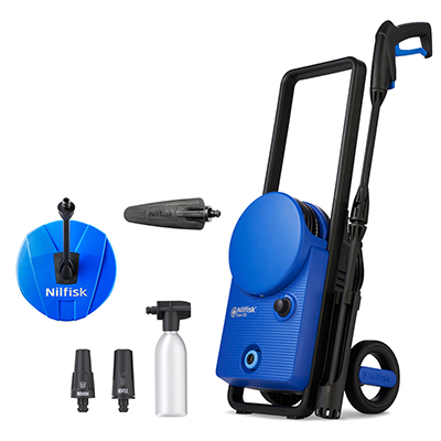 Nilfisk Core 125 Home & Car Pressure Washer Bundle