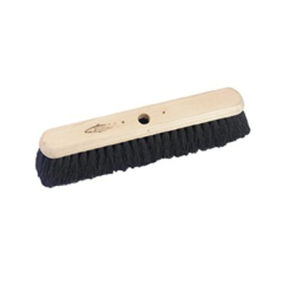 Hill Brush Industrial Soft Black Coco Platform Broom (457mm)