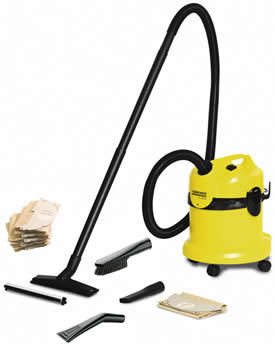 Karcher A2004 Car Vacuum Package