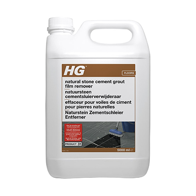 HG 31 Natural Stone Cement & Lime Film Remover (5ltr)