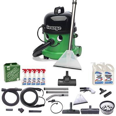 Numatic George GVE 370-2 with A26A Kit & Cleanstore PLUS Kit
