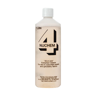 Nuchem 4 All in One Extraction Cleaner (1 Litre)
