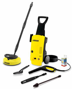 Karcher K397 MD Pressure Washer with T200 Patio Cleaner