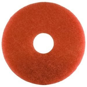 19 Inch Red Floor Pads