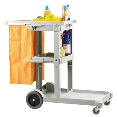 Cheapie Chappie Janitorial Cart