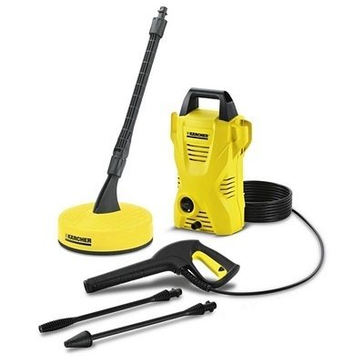 how to clean decking with a karcher pressure washer
