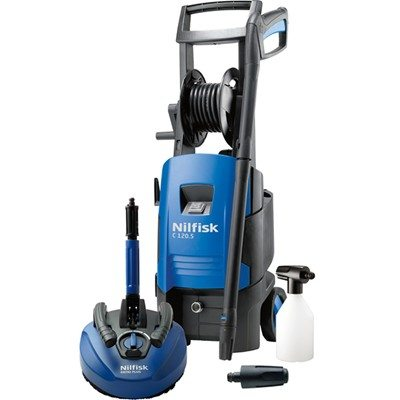 Nilfisk C120-5.6 Pressure Washer with Patio Plus Cleaner