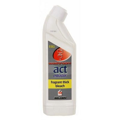 Selden Act Extraclor Thick Bleach (6 x 750ml)