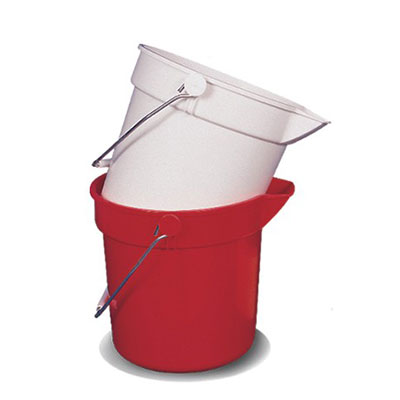 White 10 Litre Bucket