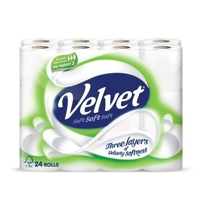 Triple Velvet Luxury Toilet Roll