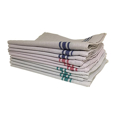 White Cotton Tea Towel (Pack of 10)